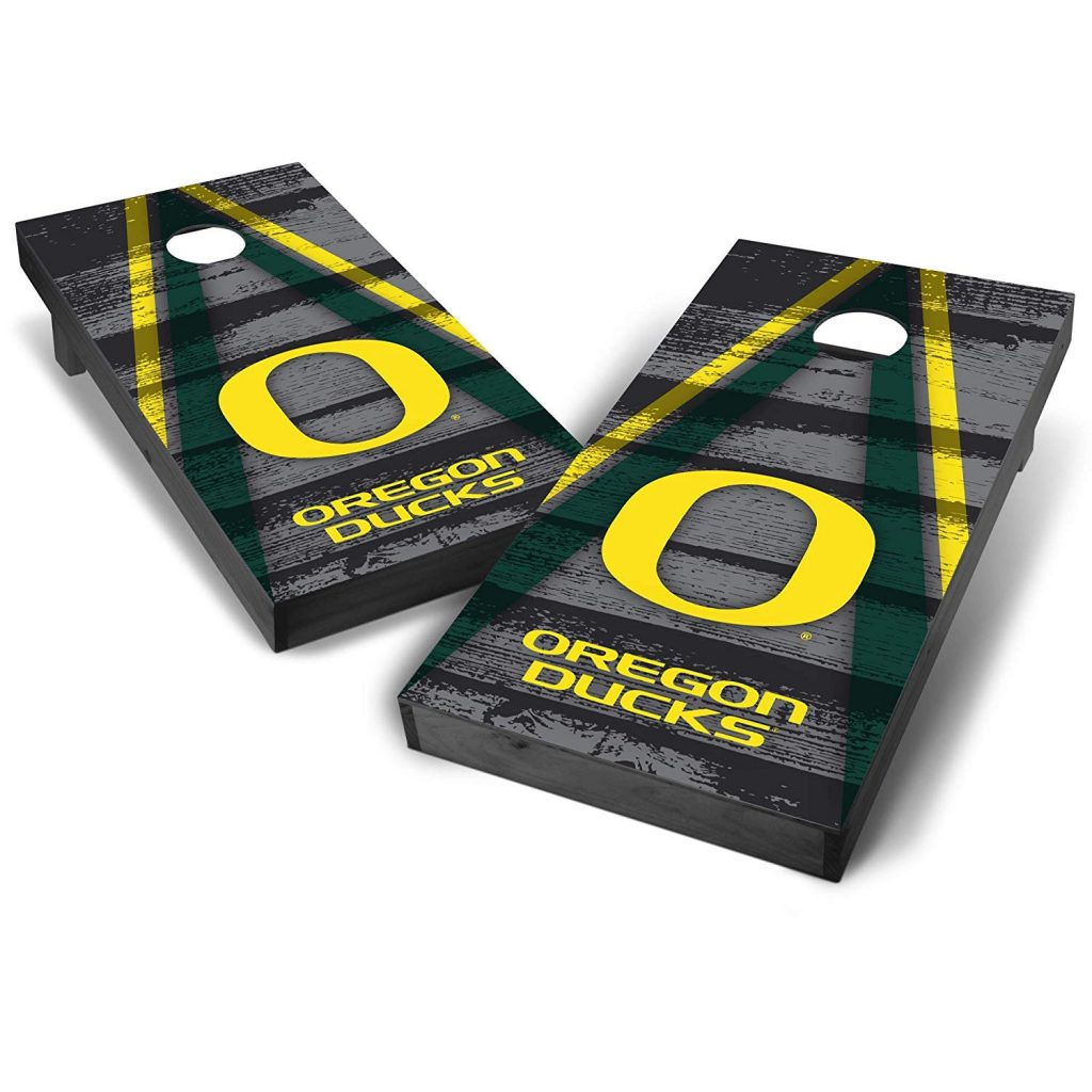 Oregon Ducks Cornhole Board